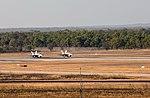 Two USMC Hornet jets at RAAF Base Tindal in August 2016.jpg