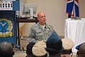 U.S. Air Force Maj. Gen. Eric Vollmecke, the deputy director of exercise of Western Accord 2013, briefs chiefs of defense from nations of the Economic Community of West African States June 26, 2013, at the Kofi 130626-A-ZZ999-004.jpg