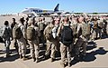 U.S. Service members at Fort Worth, Texas, board an airplane bound for Agadir, Morocco, April 5, 2012, in support of African Lion 2012 120405-A-JC300-095.jpg
