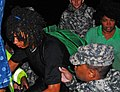 U.S. Soldiers with the 922nd Horizontal Engineer Company, 769th Engineer Battalion, Louisiana Army National Guard rescue residents during Hurricane Isaac in St. John the Baptist Parish, La., Aug. 29, 2012 120829-A-E0763-003.jpg
