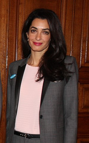 Amal Clooney - Clooney in May 2014