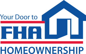 Logo of the Federal Housing Administration.