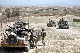 series of military operations conducted by the ISAF forces against Taliban insurgents