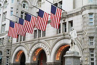 Old Post Office (Washington, D.C.) - Entrance to Old Post Office Pavilion before 2014 redevelopment (2013)