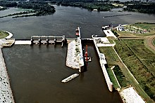 USACE Tom Bevill Lock and Dam aerial view.jpg