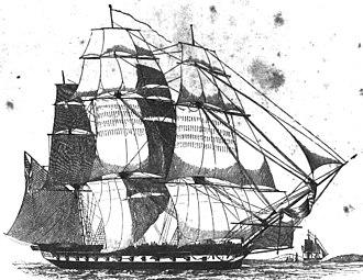 USS United States (1797) - Image: USS United States 1797
