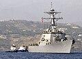 USS Arleigh Burke (DDG 51) in Crete.jpg