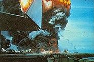 USS Forrestal fire 2 1967