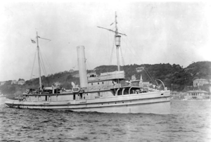 USS Genesee (Fleet Tug No. 55) at Queenstown, Ireland, in 1918