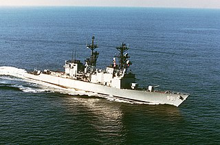 USS <i>John Hancock</i> (DD-981) Spruance-class destroyer