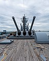 USS New Jersey, forward turrets, Aug 2019.jpg