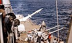 USS Richmond K. Turner (DLG-20) launches a RIM-67A missile, in 1972.jpg