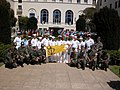 US Navy 030408-N-1825C-005 Naval Postgraduate School enlisted Sailors join NPS Superintendent and Chief of Staff.jpg