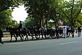 US Navy 040609-N-1464F-011 The Old Guard of the Army's 3rd U.S. Infantry Regiment transports the flag-draped casket of former President Ronald Reagan.jpg