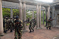 US Navy 070925-N-0989H-396 Members of the Jamaica Defense Force conduct Close Quarters Battle and room clearing drills with U.S. Marines assigned to a mobile training team during small unit training.jpg