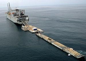 US Navy lighterage system - modern landing barges