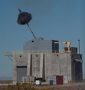 Advanced Gun System - Test firing of Advanced Gun System