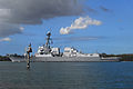 US Navy 100227-N-0995C-047 USS Chung-Hoon (DDG 93) passes a channel marker as it departs Pearl Harbor.jpg