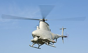 US Navy 110930-N-JQ696-401 An MQ-8B Fire Scout unmanned aerial vehicle (cropped).jpg