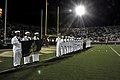 US Navy 111103-N-YX169-365 Sailors are presented on the field at Bright House Networks Stadium at the University of Central Florida.jpg