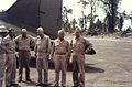 US Navy officers at Piva Field, Bougainville c1944.jpg