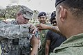 US and Belize military train on non-lethal weapons during Fused Response 2014 140311-N-LO372-078.jpg
