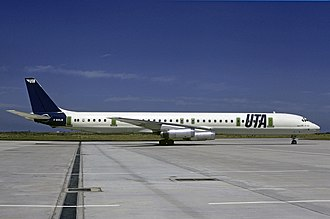 Arrow Air Flight 1285 - The aircraft involved in the accident while still in service with UTA.