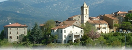 A general view of Ucciani