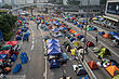 Umbrella Revolution Harcourt Road Day view 20141014.jpg