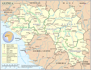 Geography of Guinea