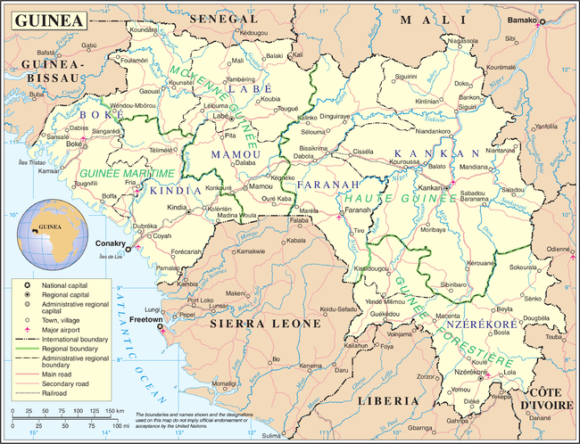 Geography of Guinea Wikipedia