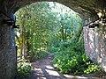 Under a railway bridge, Westhouses - geograph.org.uk - 235714.jpg