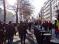 United Belgium Brussels demonstration 20071118 DMisson 00001 boulevard du Regent near American embassy.jpg