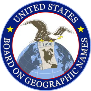 United States Board on Geographic Names US geographic naming government agency