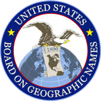 United States Board on Geographic Names - Image: United States Board on Geographic Names logo
