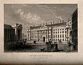 University of Dublin, Ireland. Line engraving by A. McClatch Wellcome V0012555.jpg
