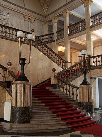 Silesian Parliament - The Silesian Parliament – Interior.