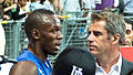 Usain Bolt interview Meeting Areva 2011.jpg