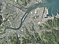 Usuki city center area Aerial photograph.2018.jpg
