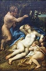 Vénus, Satyre et Cupidon