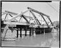 VIEW OF SOUTHEAST TRUSS - Marysvale Bridge, Spanning Sevier River on Rio Grande Street, Marysvale, Piute County, UT HAER UTAH,16-MAVA,1-6.tif