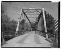 VIEW TO NORTH, OF THROUGH TRUSS - Tiskilwa Bridge, Toconship Road 236 over Bureau Creek, Tiskilwa, Bureau County, IL HAER ILL, 6-TSK. V, 1-5.tif