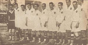 Valencia CF - The Valencia squad in 1927.
