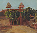Valentine Cameron Prinsep - View of the Lal Darwaza on the Matwa Road.jpg