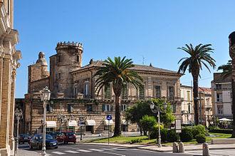 Vasto - Castello Caldoresco in Piazza Rossetti.
