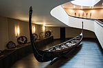 Vatican - Exhibiton of ship models, entrance, with a gondola.jpg