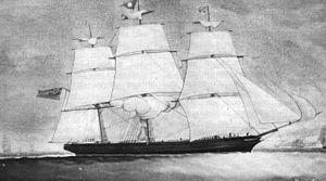 Mimosa (ship) - Image: Velero Mimosa, Y Wladfa