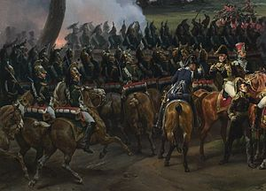 Dragons de la Garde Impériale - The Empress Dragoons at the battle of Hanau