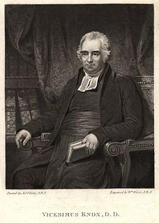 Vicesimus Knox British writer