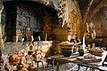 Vieille cuisine dans le Château de Biron - Perigord.jpg